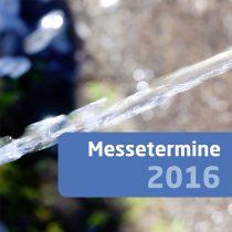 Messetermine 2016